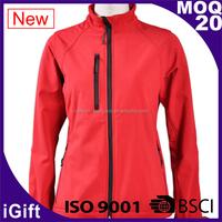 Outstanding tactical lightweight Outdoor Microfleece softshell Jacket Reinforced shoulders light ladies waterproof jackets