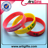 Promotion custom made fashion silicone bands