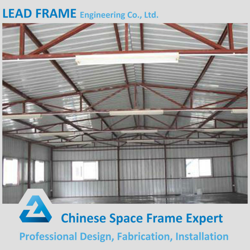 Prefabricated steel frame metal roof system for building for Prefabricated roofing systems