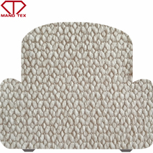 popular polyester jacquard woven textured sofa fabric