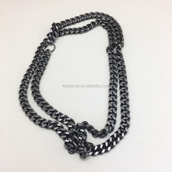 Free sample bag chain customized varieties styles chain for bag handle