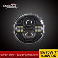 LED Front Head Lamp Jeep Wrangler 7inch LED Head Light