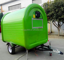 zhicheng white fast food trucks for sale juice/chicken/fryer/BBQ street electric tricycle food cart