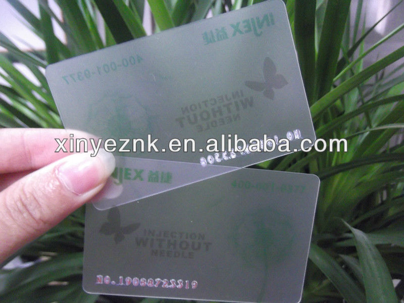 full color offset printing matt finish plastic discount card with press embossing number