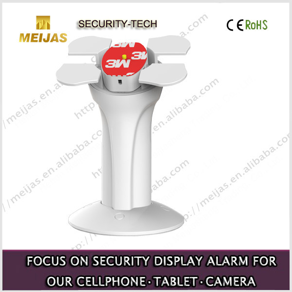 Rotating security acrylic display stand for ipad in supermarket