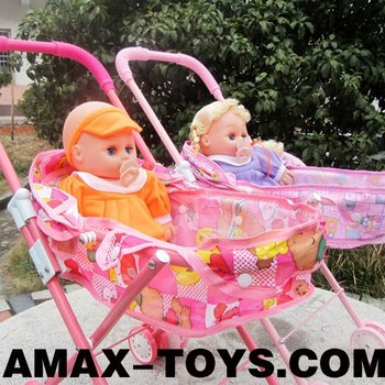 doll-310826A Baby stroller Emulational folding toys