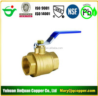 USA Standard NPT cUPC NSF approved Low Lead/Lead Free Brass Ball Valve
