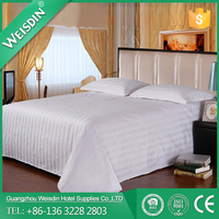 WEISDIN wholesale new design cotton hotel linen bed sheets