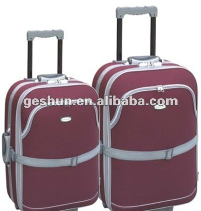 3pcs EVA travel luggage bags set
