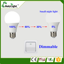 Free sample!3 years warranty 6W DC 12volt age led 9 bulb LED base e27 12v dc led bulb with best price
