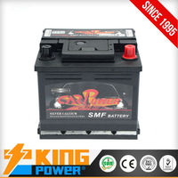 Korean lead acid car battery 44AH 54464MF