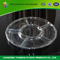 Transparent disposable dry fruit tray