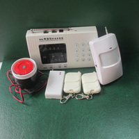 wireless GSM smart security home alarm system with LED display