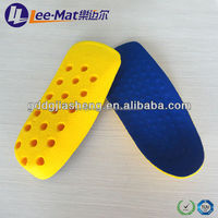 PU foam elevator height increasing shoes insole and air cushion height hidden sole