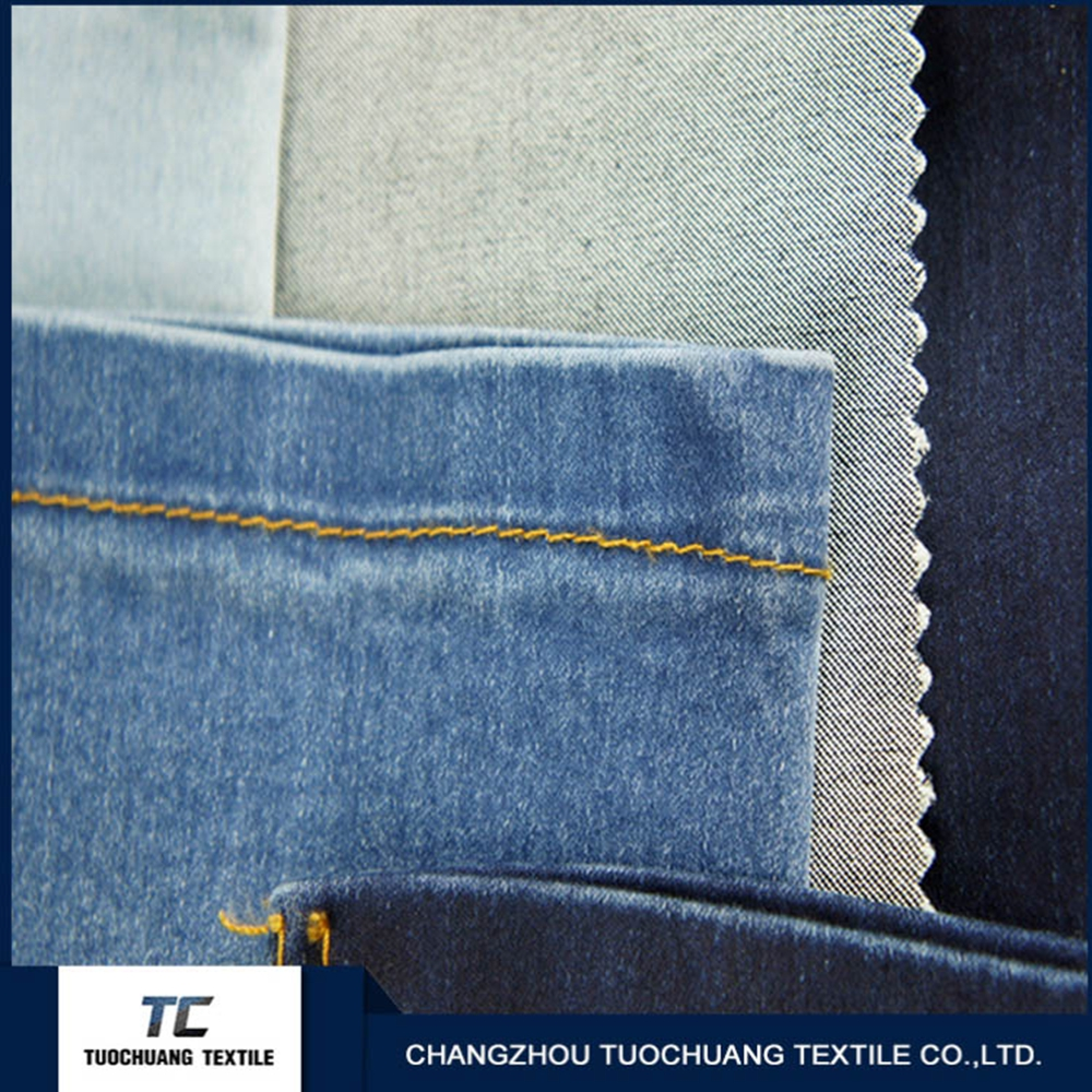 factory supplying 100% Cotton denim fabric stock lots jeans garments