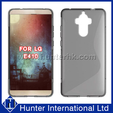 New Arrival S-line Jelly TPU Case For LG E410