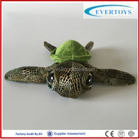 popular plush stuffed pet big eyes turtle toy