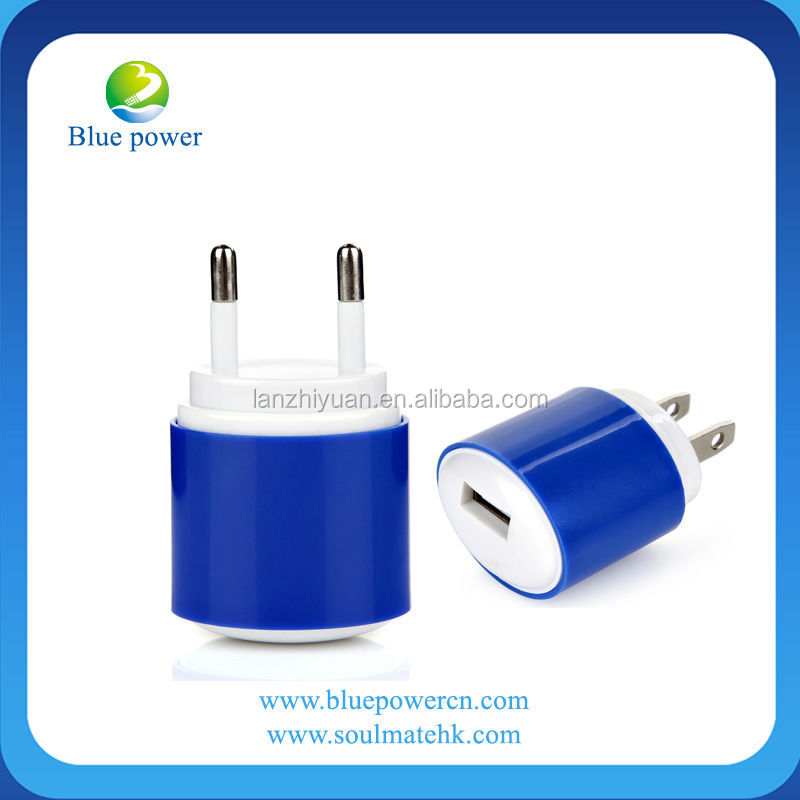 High quality 5v 1.2a usb travel charger video digital camera travel charger