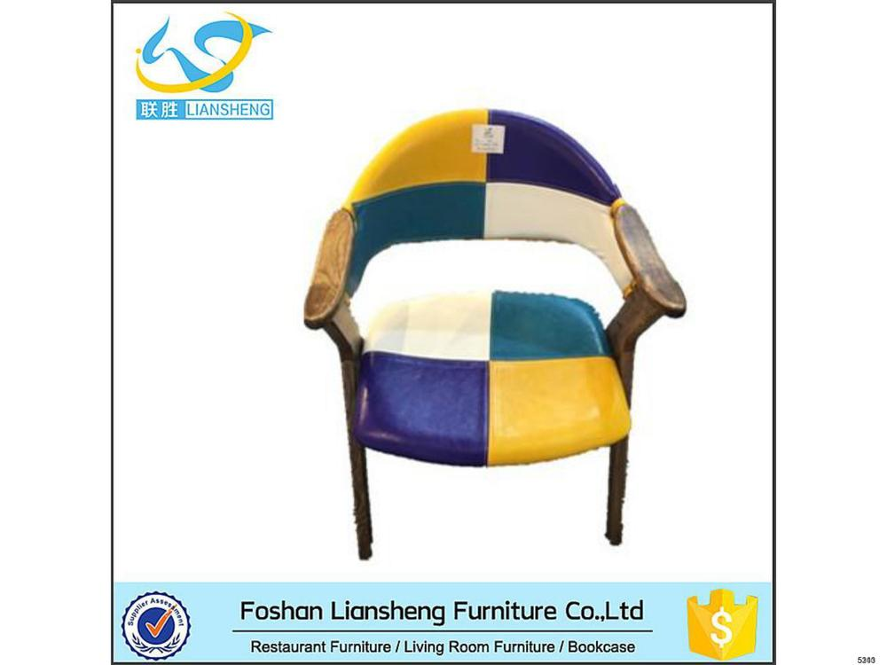 High Quality hand shaped wood chair For Dining