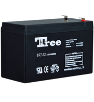 TREE Baterry 12v High Quality 12v 7ah 20hr Battery