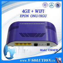 CE Certification! Professional FTTH EPON 4 Gigabit WiFi Router GEPON ONU Compatible with Fiberhome AN5516-06 Huawei MA5680T OLT