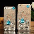 Bling bling case back cover for iPhone 6 6 Plus, Mirror diamond case for iPhone 7 7 Plus