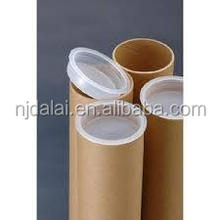 Hot sale mailing paper tube shipping tube poster packaging cylinder shaped brown kraft tube simple