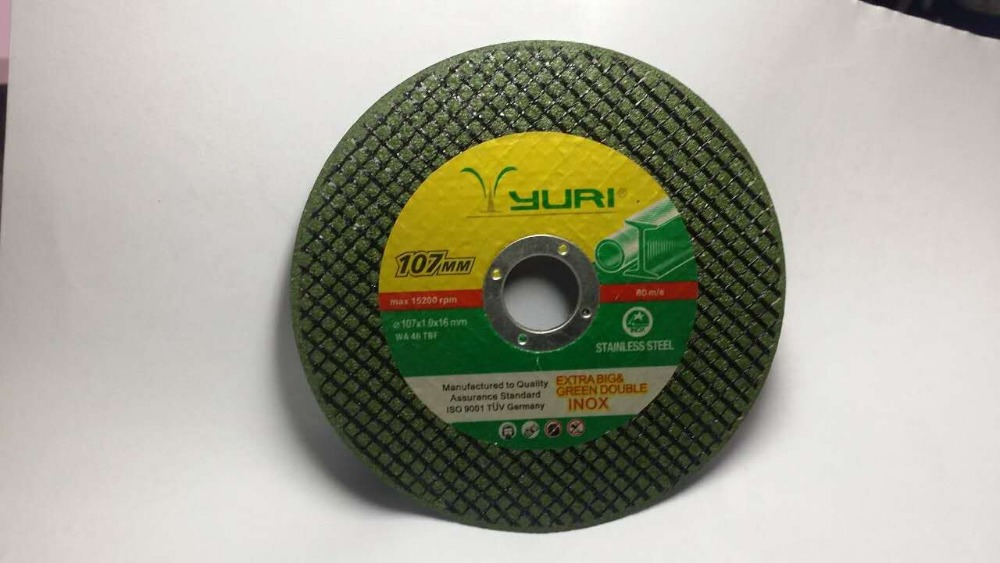 yuri cut off wheel,105X1.2X16mm,15200rpm,OEM&ODM,Abrasive Cutting Wheel for Metal, ABRASIVES grinding disc for matal,depressed