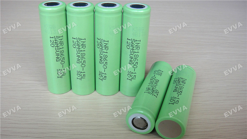 High Power Samsung SDI INR18650-15L 3.7V 1500mAh 18650 Rechargeable Lithium ion battery
