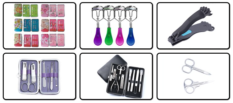 Hot Selling Stainless Ladies Manicure Set