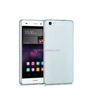 Ultra Thin Transparent Tpu Shockproof case For Huawei P8 lite
