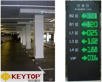 Led Guidance Screen for Parking Guidance System