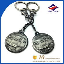 Unique Essential oil keychain Car Logo Keychain For Gifts