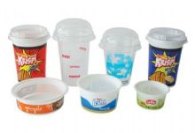 Thermoforming Ayran and Yogurt Cups