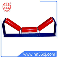 Low friction resistance industrial dust proof conveyor roller idler pulley