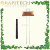 10 Inch Gardening Marker Pen with Slip-On Copper Metal Plant Label