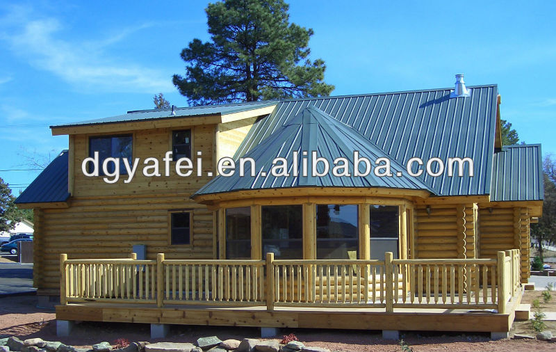 artificial wooden house