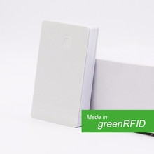 Factory price blank pvc white smart memory card