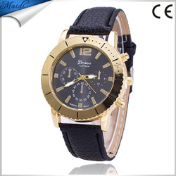 Alibaba Hot Sale Leather Wristwatches For Women Ladies Roman Quartz Dress Watch reloj relogio feminino Factory Price GW071