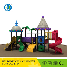 Chinese wholesale low price outdoor kids playhouse classic castle series