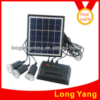 Portable solar light/solar LED lighting system use for indoor or outdoor lighting and mobile phone charging