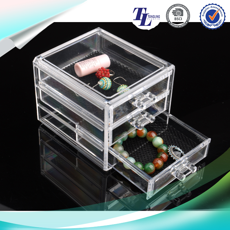 Unique design hot sale worth buying jewellery cosmetic storage box