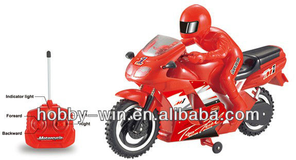 Toy 4CH RC Motorcycle For Sale With Light