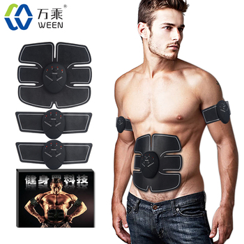 Ab Toner Ab Trainer Abdominal Body Fit Toning Training Gear Wireless Electronic Muscle System