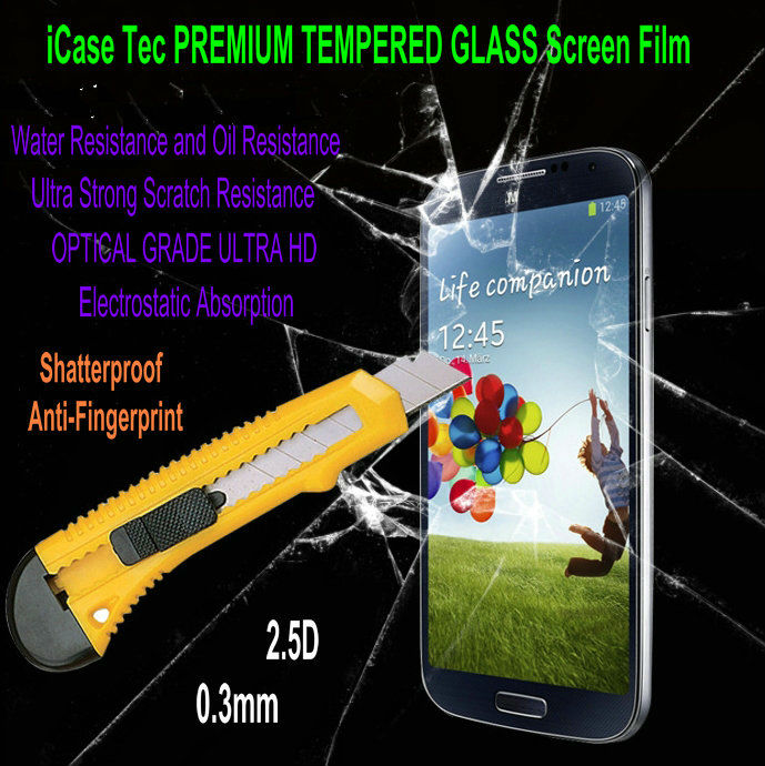 For Samsung Galaxy SIII S3 i9300 Tempered Glass Screen Protector For s3 protective film 2014 New
