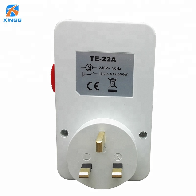 wholesale high quality 3 pin switched socket 24h auto plug mechanical <strong>timer</strong>