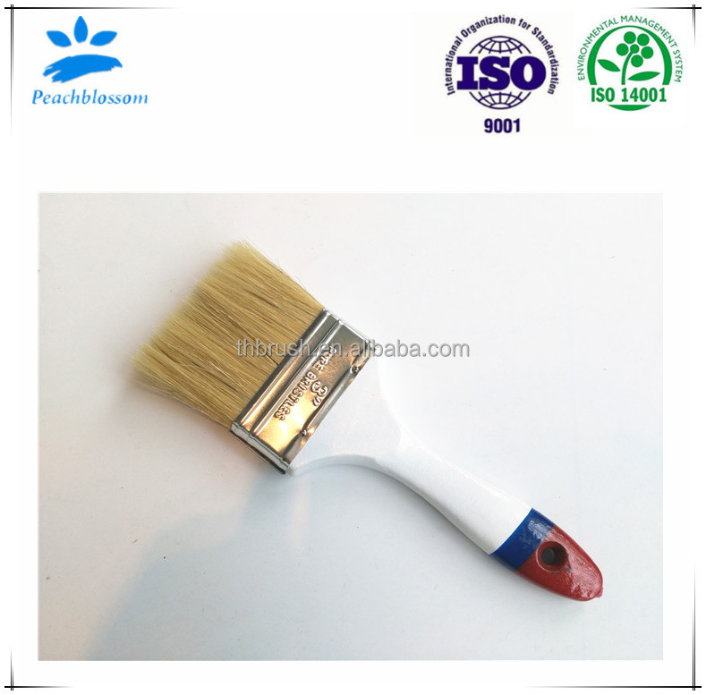 2017 Hot Selling Bristle Paint Brush Wooden Handle Manufacturer In Brush