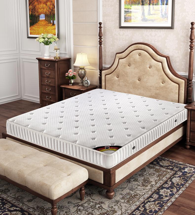 The latex mattress 1.5 meters 1.8m independent spring mattress bag compression coconut palm mattress custom - Jozy Mattress | Jozy.net