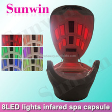 Far infrared sauna ozone sauna LED light therapy beds for body