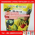 Professional Manufacturer 100% water soluble NPK Fertilizer 10-52-10(SOP) FACTORY